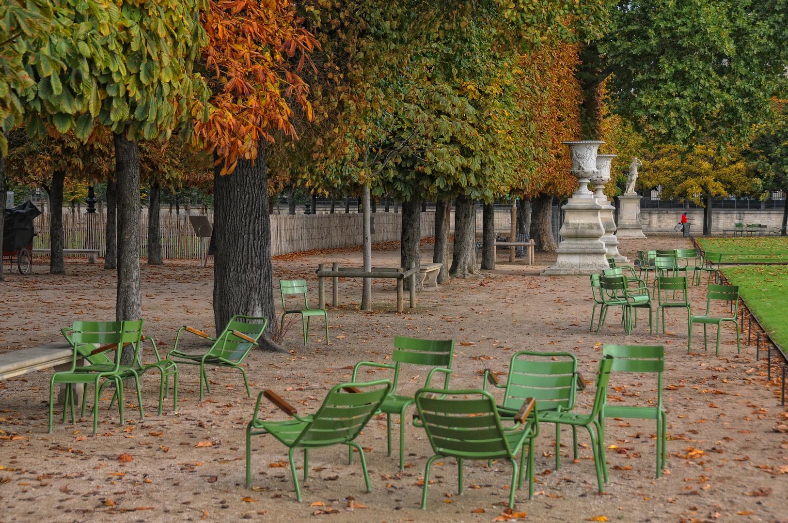 Paris - Herbst im Jardin des Tuileries