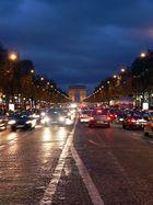 Paris im Dunkeln...