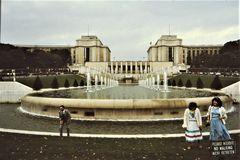 Paris, Jardins du Trocadéro, Farbe, orginal