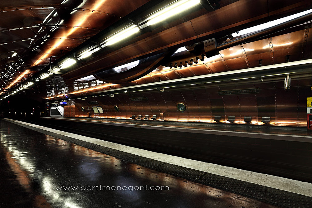 Paris Metro Arts et Metiers