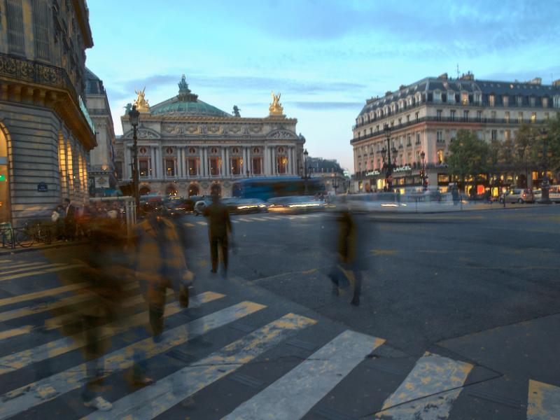 Paris-Place de l'opera