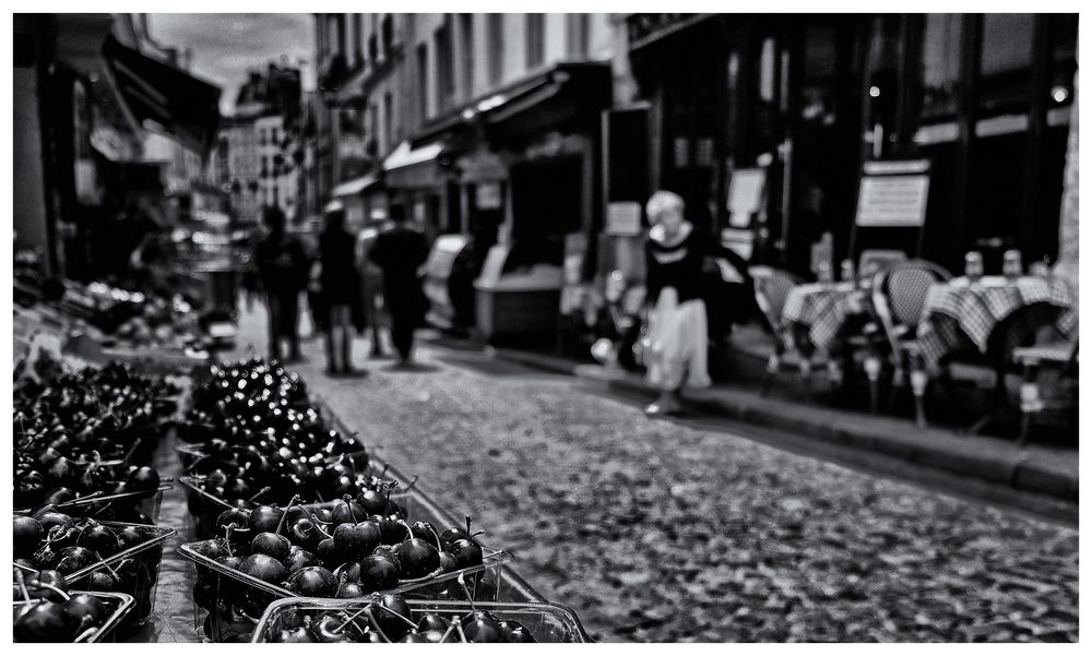 "Paris-""Rue Mouffetard"""
