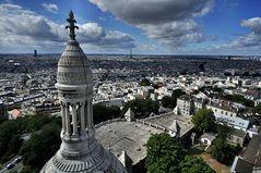 Paris - Sacre Coeur und Eiffelturm