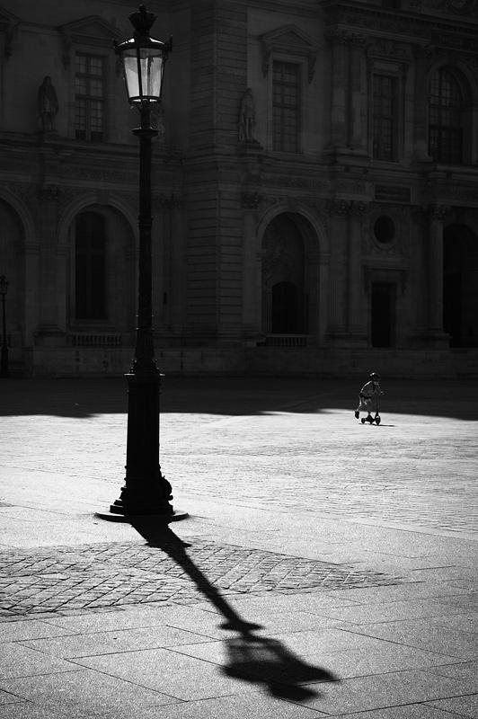 Paris - Spielplatz Louvre