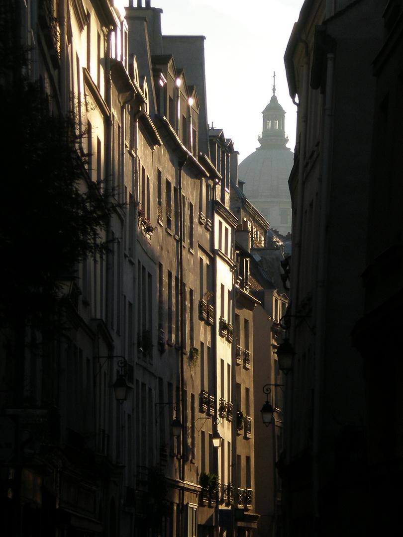 Paris sunlight