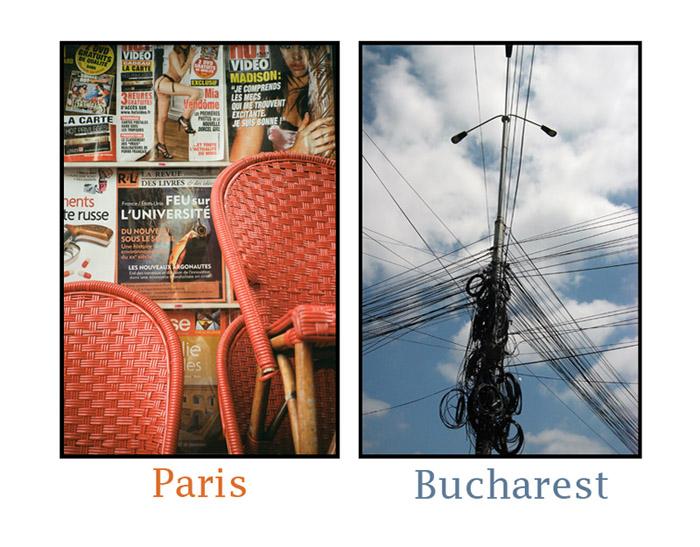 """""""Paris, und das kleine Paris des Ostens"""""""