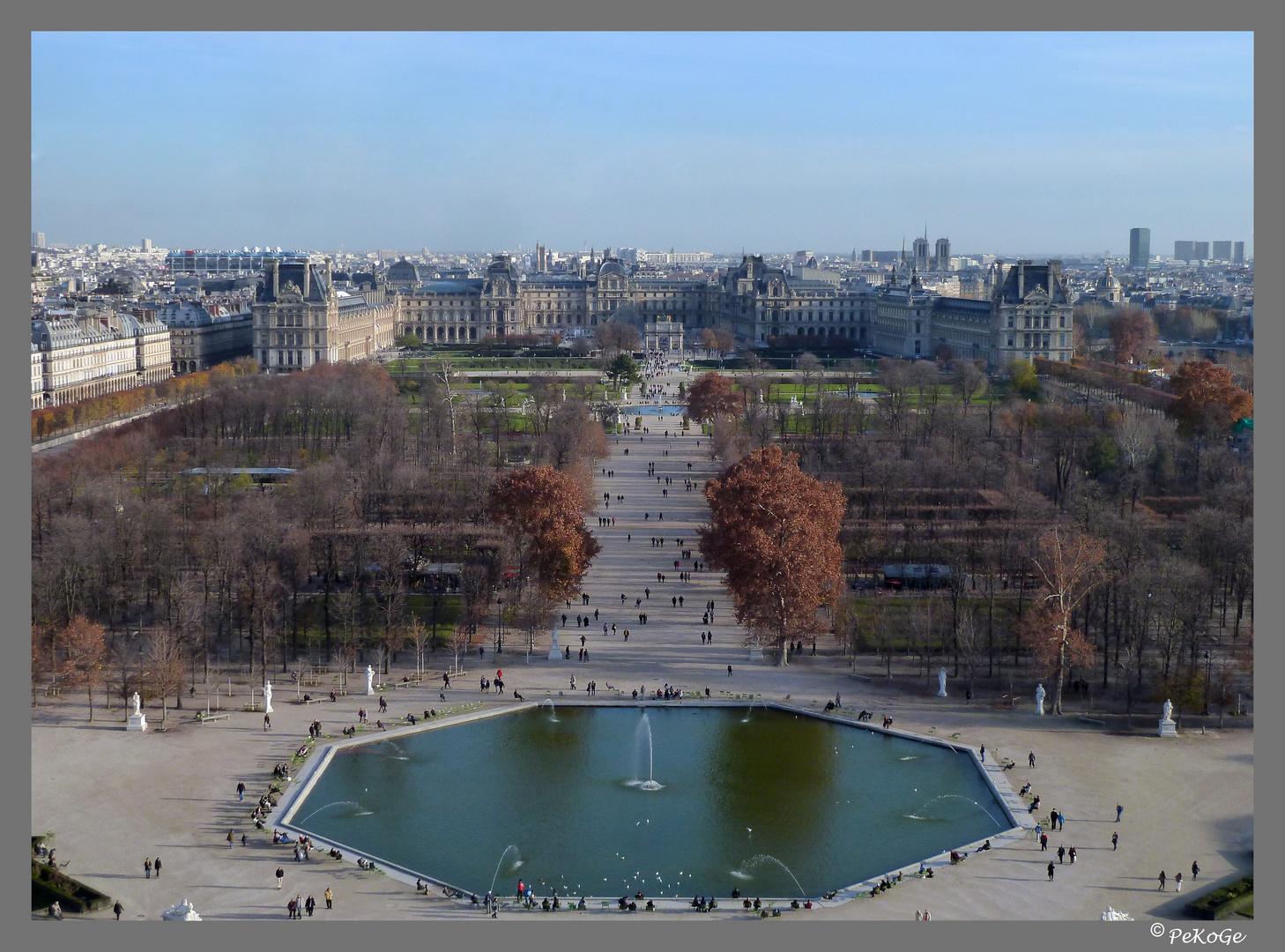 Paris von oben I