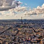 Pariser Skyline (HDR)