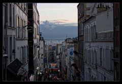 Pariser Stadtlandschaft