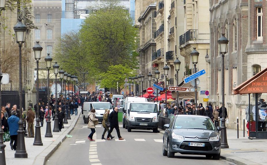 Pariser Straßenszenen Foto & Bild   europe, france, paris Bilder auf ...