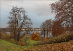 Park Babelsberg im Herbst.