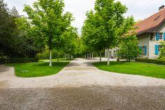 Park beim Museum Hermitage