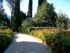 Park einer Villa in Umbrien