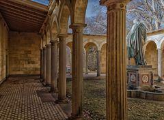 Park Sanssouci - Statue von Christus -