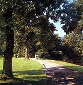 Park Schloß Reinhardsbrunn Thüringen Friedrichroda vor 1995