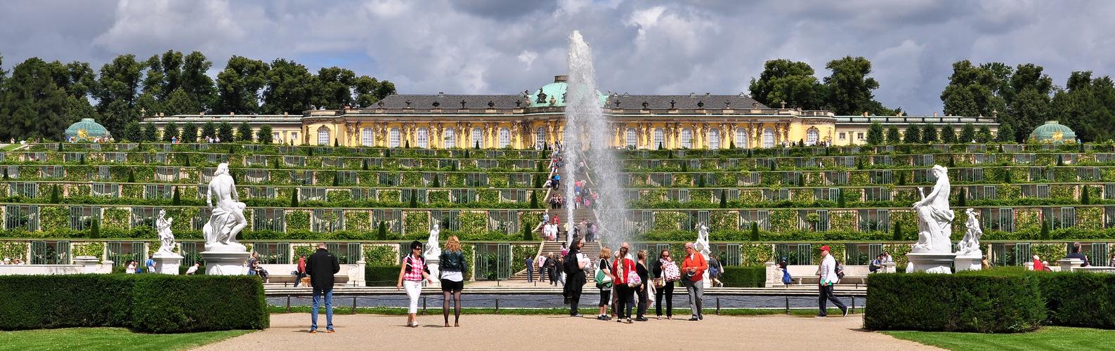 Park und Schloss Sanssouci............