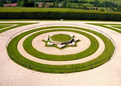 Park vom Schloss in Bazoches