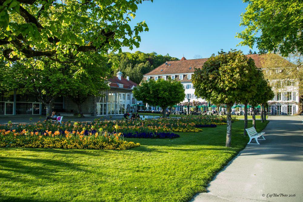Park vor dem Bad Hotel Überlingen