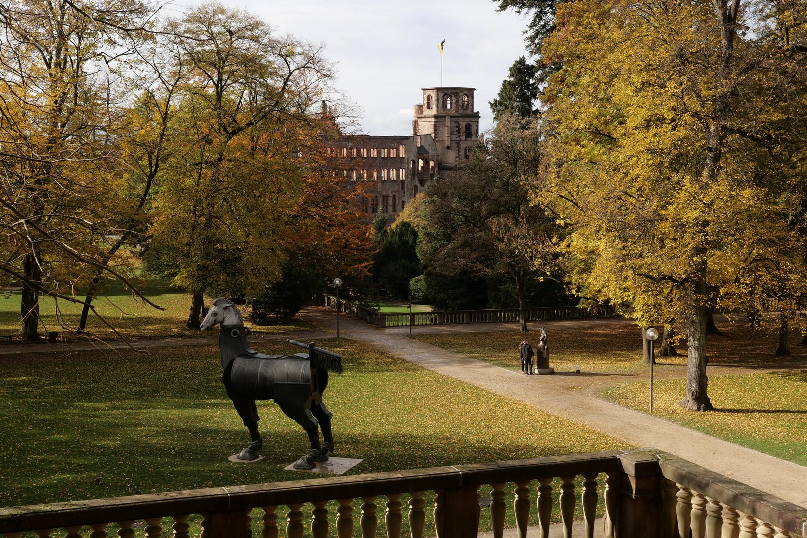 Parkanlage Schloß Heidelberg