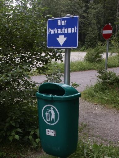 Parkautomat in Österiech