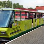 Parkbahn Cottbus: Die Fahrkarten bitte