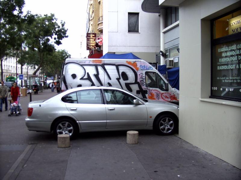Parken auf eigene Gefahr