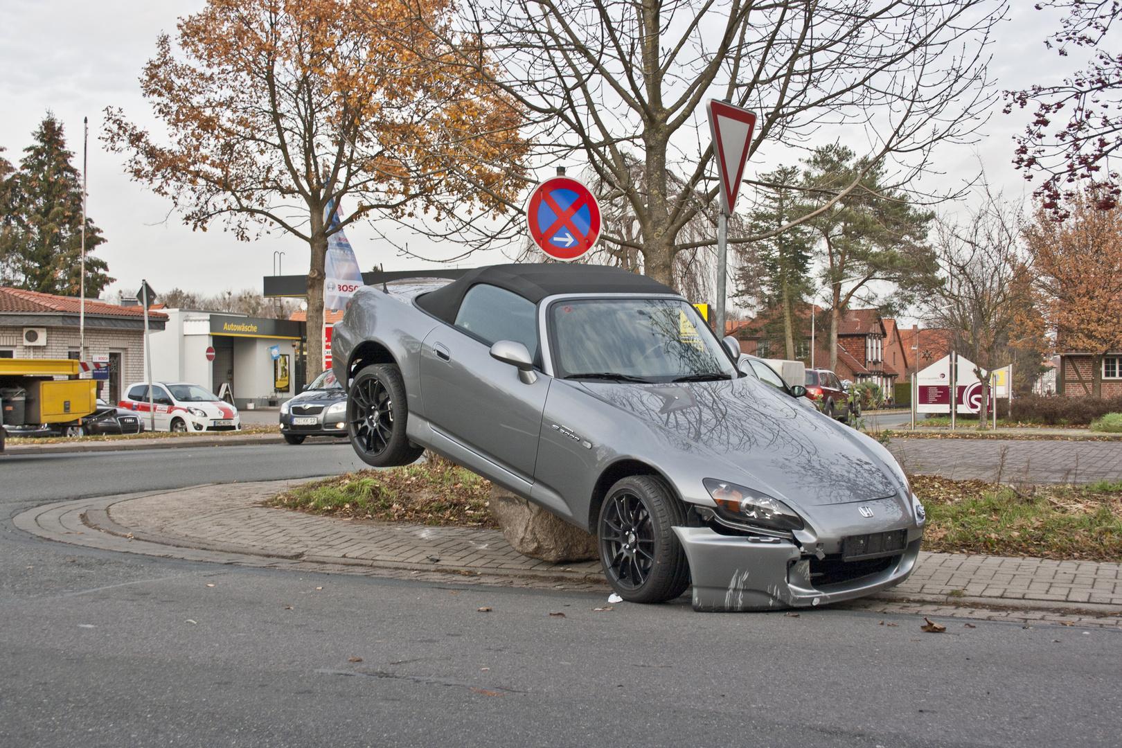 Parken im absoluten Halteverbot, das wird teuer.