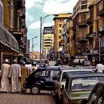 Parken mit Fiat 600 in Cairo