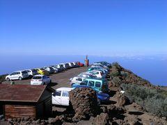 Parken über den Wolken, 2426 m über dem Meer