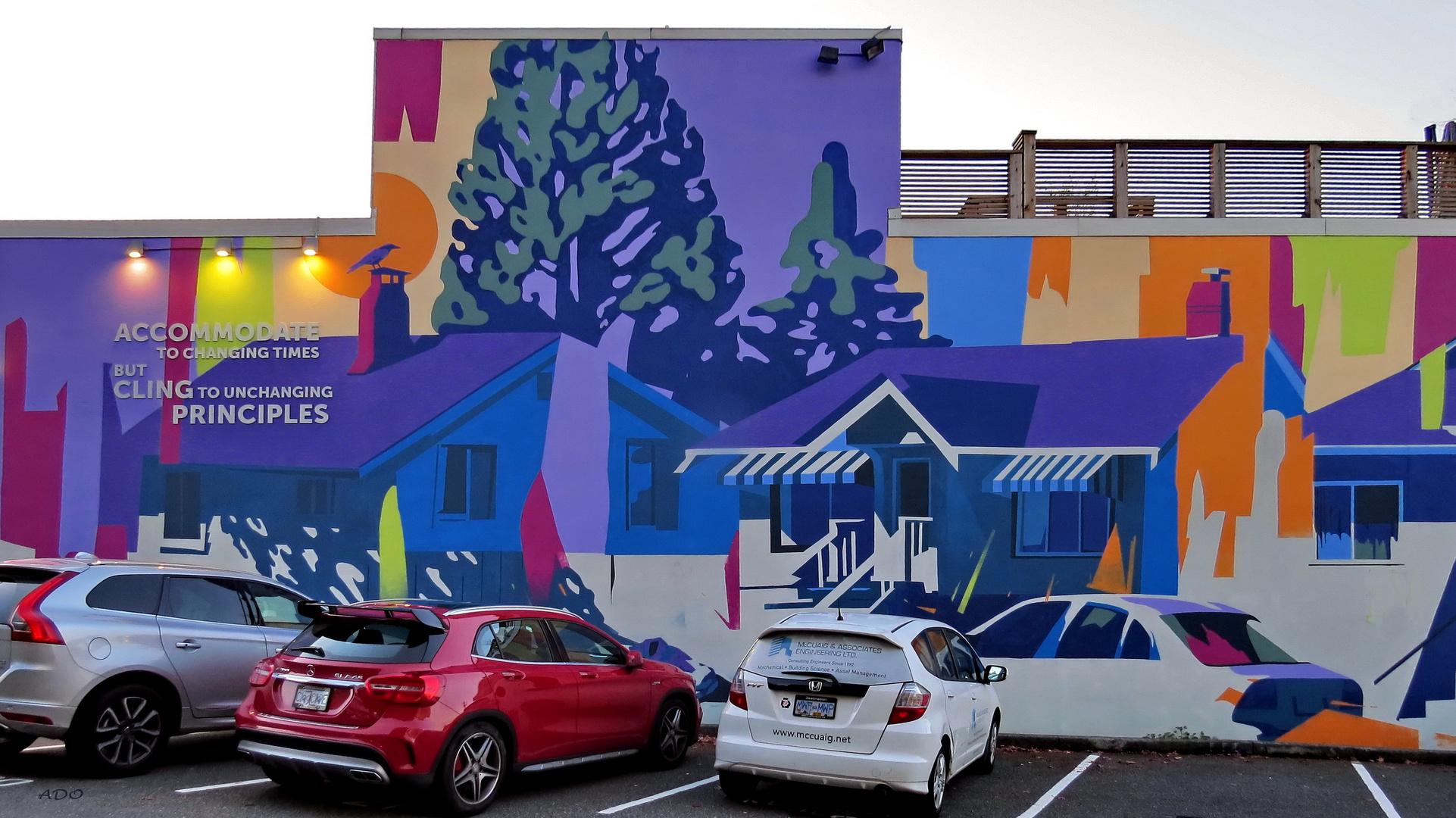 parking sous la fresque