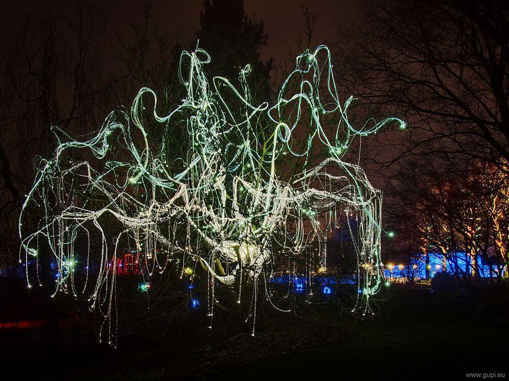 Parkleuchten XVI - Leuchtbaum