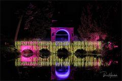Parknächte Lichtfestival Schloß Dyck ...