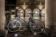 Parkplatz für Fahrrad