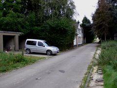 Parkplatz in der Geisterstadt
