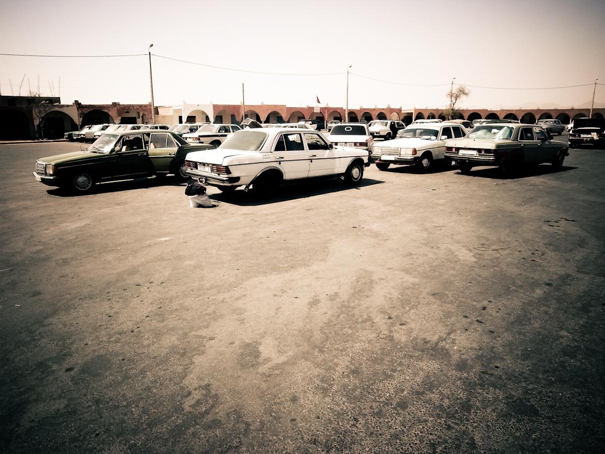 Parkplatz, Marokko
