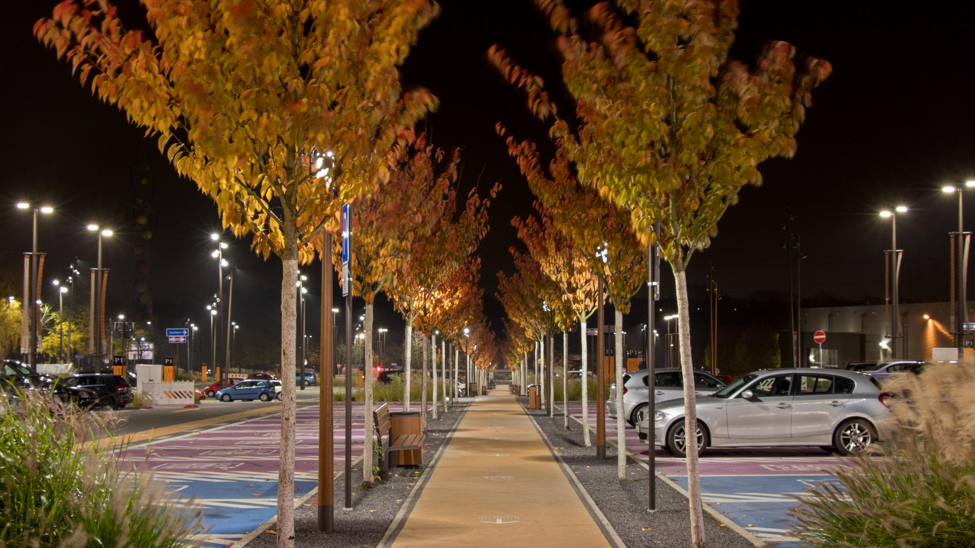 Parkplatzweg Ruhrpark