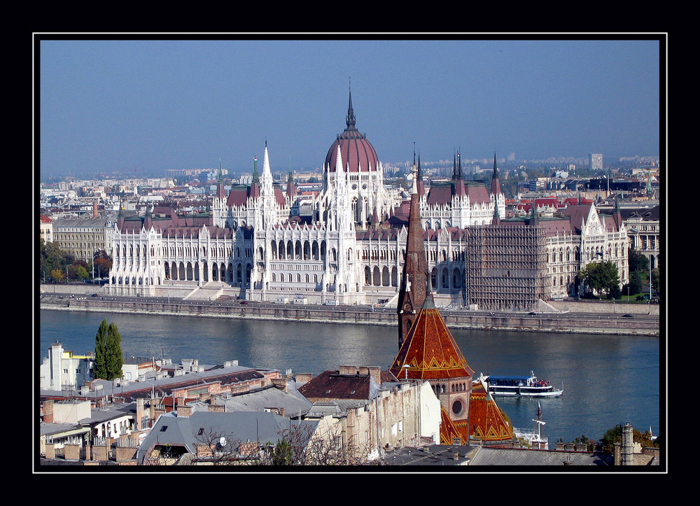 Parlament in Budapest / Ungarn