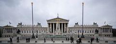 Parlamentsgebäude Republik Österreich