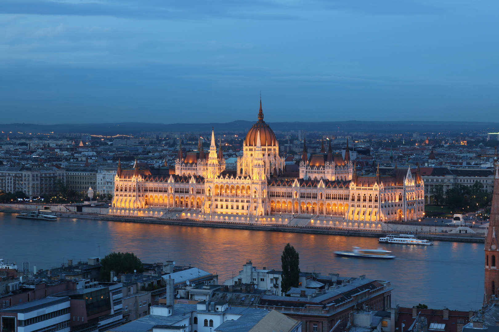 Parlamentsgebäude Ungarns