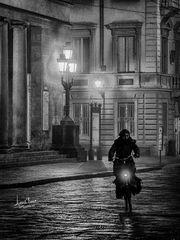 Parma, a winter night