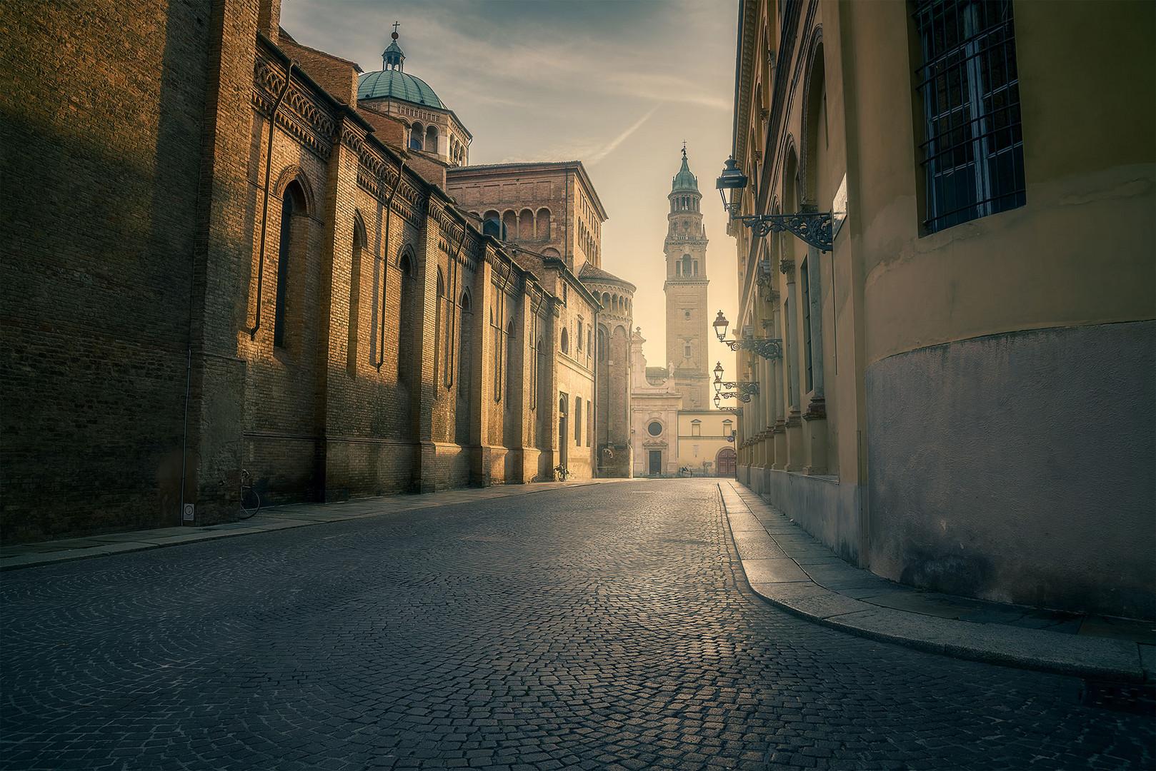 Parma all'alba