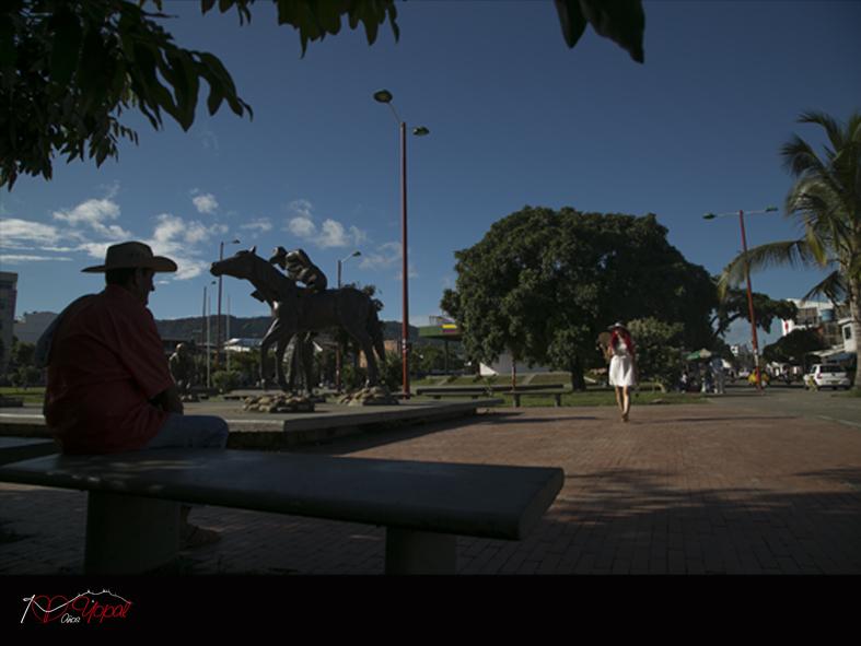 Parque El resurgimiento Yopal - Casanare.