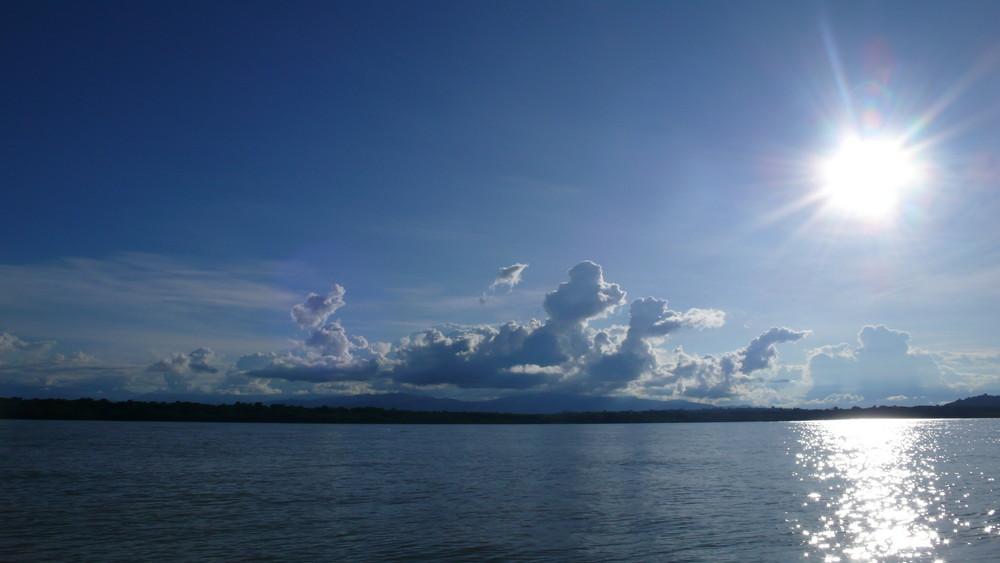 Parque Nacional de Manzanillo CR desde el Mar
