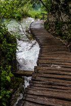 Parque Nacional Plitvice Pasarela