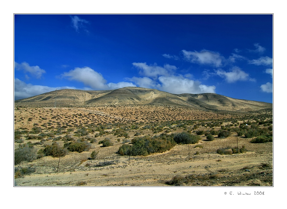 * Parque Natural de Jandia ...