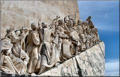 PARTICOLARE del monumento delle scoperte maritime