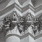 Particolare del Palazzo della Provincia di Sassari