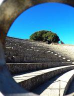 Particolare del Teatro Romano di Ostia Antica