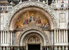 Particolare della Basilica San Marco