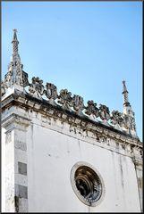 Particolare della chiesa del Convento da Madre Deus.